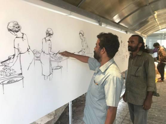Janakeeya Bhakshanasala Artists